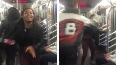 Une femme déclenche une grosse bagarre dans le métro après s'être moqué du style vestimentaire d'un homme
