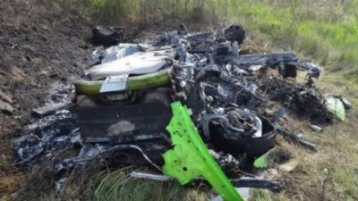 Le crash d'une Lamborghini Huracan à 320km/h