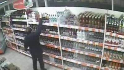 Le plus mauvais voleur d'alcool est en Russie