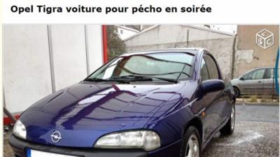 Un homme vend son Opel Tigra pour pécho en soirée sur Leboncoin