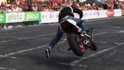 Voici à quoi ressemble une 1ère place dans un championnat du monde de stunt