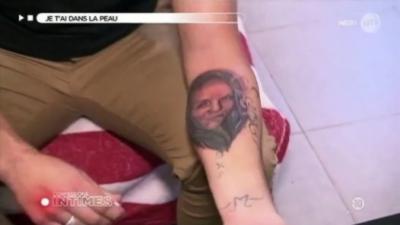 Confessions Intimes : Kévin se fait tatouer le visage de sa copine sur le bras