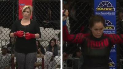 Une mère de famille en amateur défie une professionnelle pour un combat de MMA