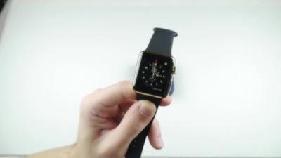 Acheter une Apple Watch Edition à 11000€ pour l'exploser