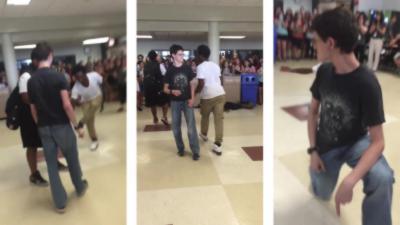Un geek surprend tout le monde pendant une battle de danse