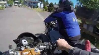 Voilà ce qui arrive quand vous volez une moto
