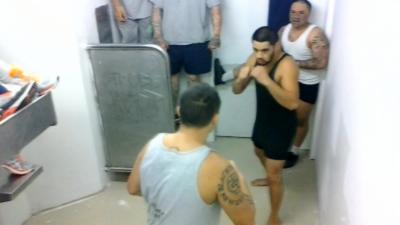 Les prisonniers mexicains ont monté un fight club comme dans le film et ils ne font pas semblant