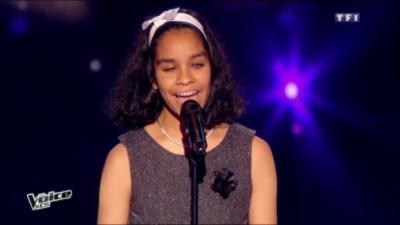 L'émouvante prestation d'une jeune fille aveugle dans l'émission The Voice Kids