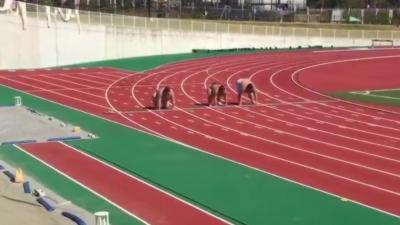 Quand des sumos font un sprint