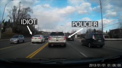 Instant Karma : Un conducteur va regretter de ne pas être patient