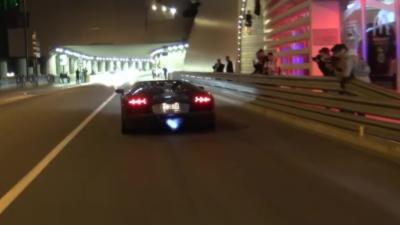 Des policiers en Citroën C4 pensent pouvoir rattraper une Lamborghini Aventador à Monaco