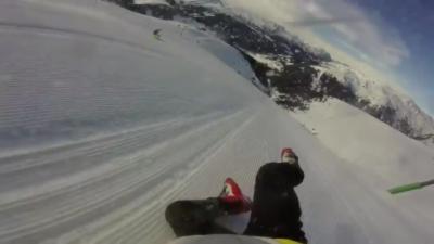 Un skieur chute et dévale 1200 mètres sans ses skis sans pouvoir s'arrêter