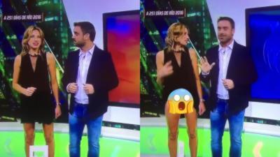 Quand une présentatrice de chez Fox soulève sa robe par accident