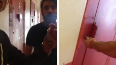 Un détenu français filme son pote crocheter la porte d'une cellule avec un fil de fer