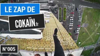 Le Zap de Cokaïn.fr n°005 - 18 minutes de vidéos insolites, de séquences drôles et d'innombrables fails