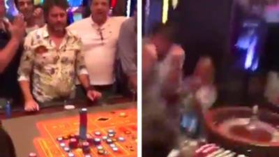 Un homme mise 100 000 dollars sur un seul chiffre à la roulette et repart avec 35 fois sa mise