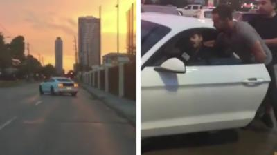 Un homme force un automobiliste complètement ivre à s'arrêter