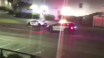 Une Lamborghini humilie et prend la fuite pendant un contrôle de police
