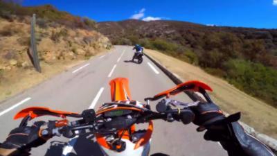 Un Youtubeur et motard français fait une lourde chute dans un ravin en Corse