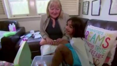 Une fillette de 5 ans chausse du 54 à cause d'une maladie rare