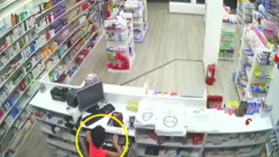 Un père utilise son fils pour braquer la caisse d'une pharmacie