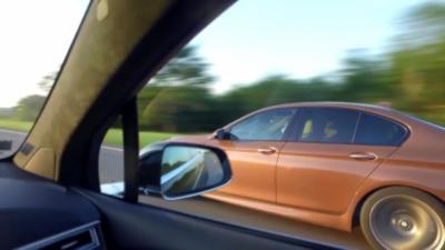 Une Tesla Model X P90D et une BMW M5 se font humilier pendant une course sauvage