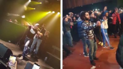 Le concert du rappeur Sofiane à Molenbeek dégénère en bagarre à cause d'une phrase dans une chanson
