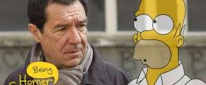 Coincé avec la voix d'Homer Simpson - Being Homer Simpson
