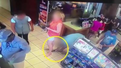 Un pervers se fait griller en train de filmer sous la jupe d'une femme