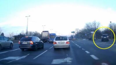 Des automobilistes ont une mauvaise surprise en prenant un raccourci pour éviter les bouchons