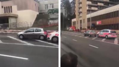 Quand les policiers se lancent dans une course poursuite à Genève