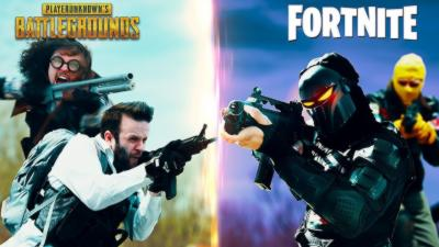 Battle Royale : PUBG vs Fortnite