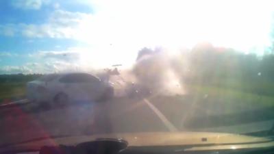 Un homme s'endort au volant et provoque un terrible accident