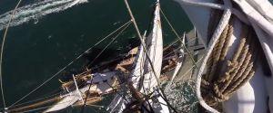 Monter au sommet du mât d'un voilier de 40 mètres avec une GoPro - POV