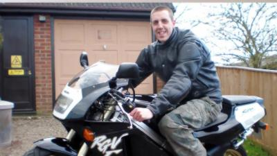 Les dernières images d'un motard avant son accident mortel