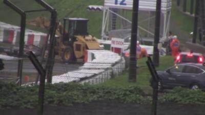 Les images de l'accident de Jules Bianchi au Grand Prix de Formule 1 du Japon