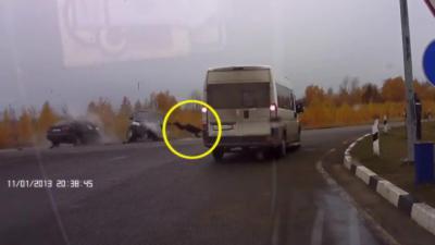 En Russie : Voilà pourquoi il est important de mettre sa ceinture en voiture
