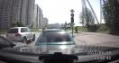 Une vengeance sur la route en Russie