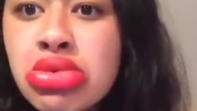 Le nouveau défi Facebook : Avoir des lèvres pulpeuses comme Kylie Jenner