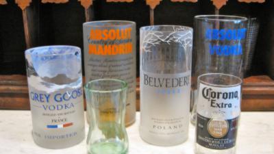 Transformez vos plus belles bouteilles en superbes verres en seulement 5 étapes