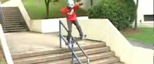 La réaction la plus expresive d'un gamin qui réussit un trick