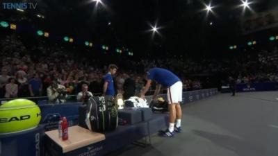 Le geste de grande classe de Novak Djokovic