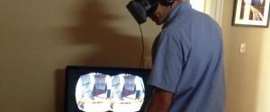Simulateur de montagne russe avec l'Oculus Rift
