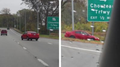 Ils se moquent d'un automobiliste qui a un accident mais le karma va très vite les rattraper