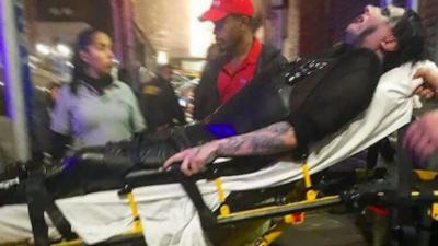 Marilyn Manson se fait écraser par une structure métallique pendant son concert