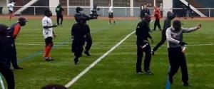 Bagarre générale lors d'un match de foot à  Ivry-sur-Seine