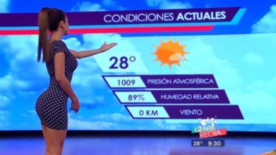 La présentatrice météo mexicaine qui vend du rêve