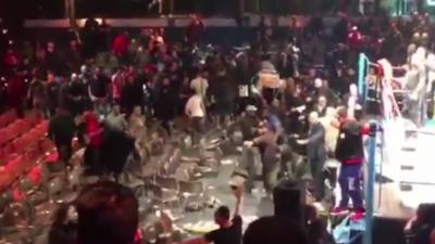 Un tournoi de boxe à Levallois tourne à la bagarre générale