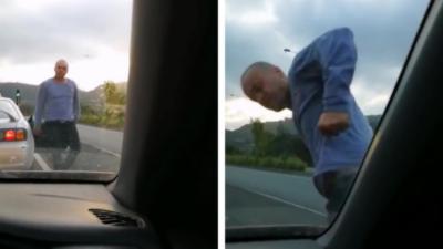 Un Road Rage en Nouvelle-Zélande