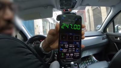 Un taxi clandestin réclame 247¤ à des touristes pour un trajet de normalement 50¤